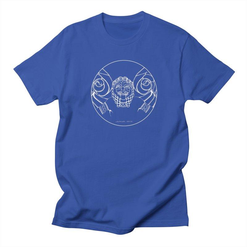the white Medusa Men's T-Shirt by it's Common Sense