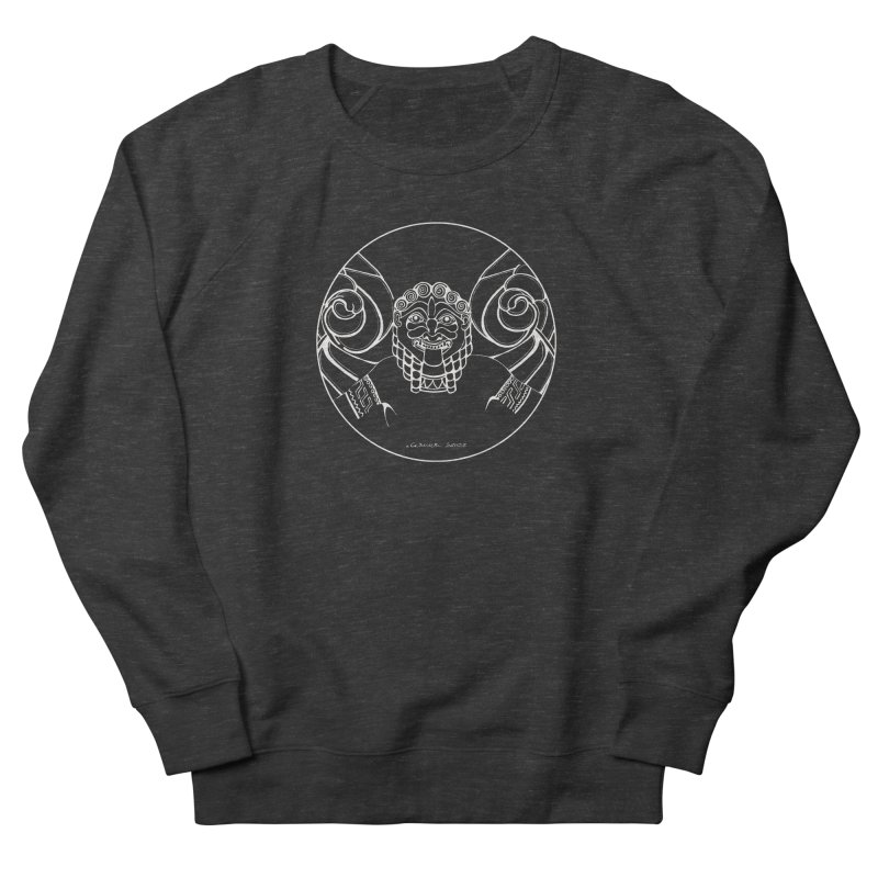 the white Medusa Women's Sweatshirt by it's Common Sense
