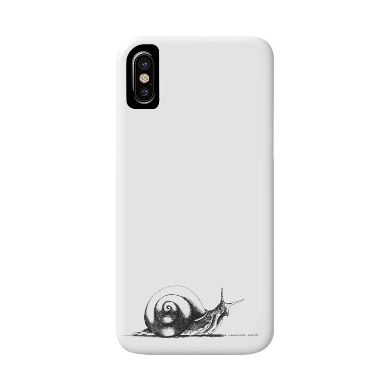 the Snail Accessories Phone Case by it's Common Sense