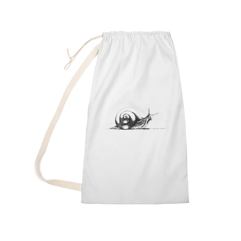 the Snail Accessories Laundry Bag Bag by it's Common Sense