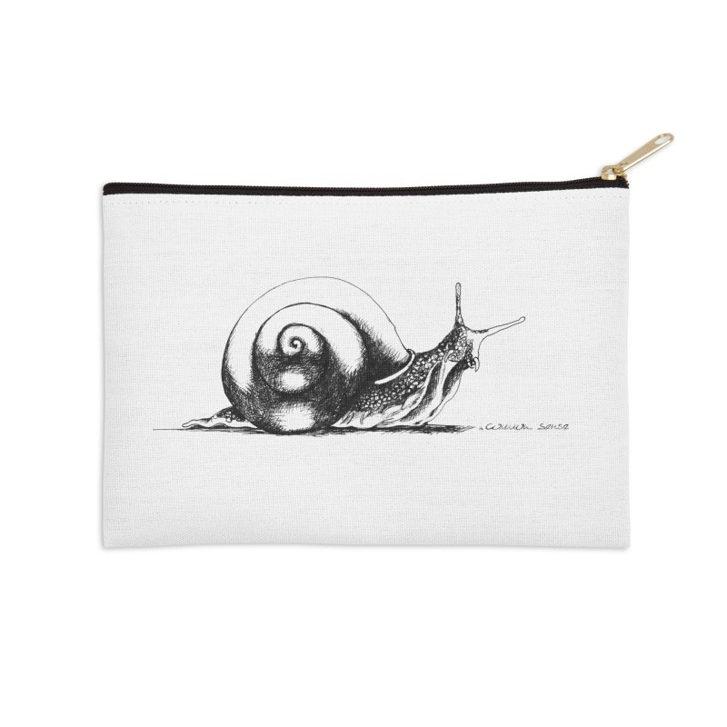 the Snail Accessories Zip Pouch by it's Common Sense