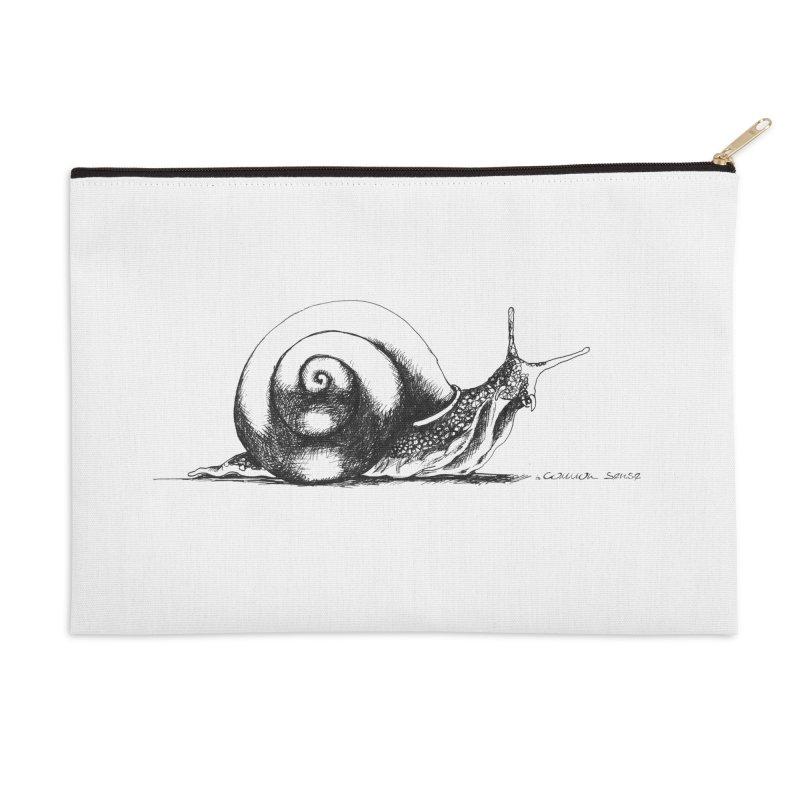 the Snail Accessories Zip Pouch by it's Common Sense