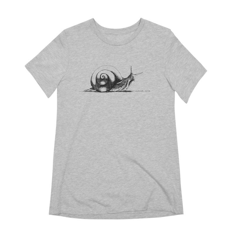 the Snail Women's Extra Soft T-Shirt by it's Common Sense