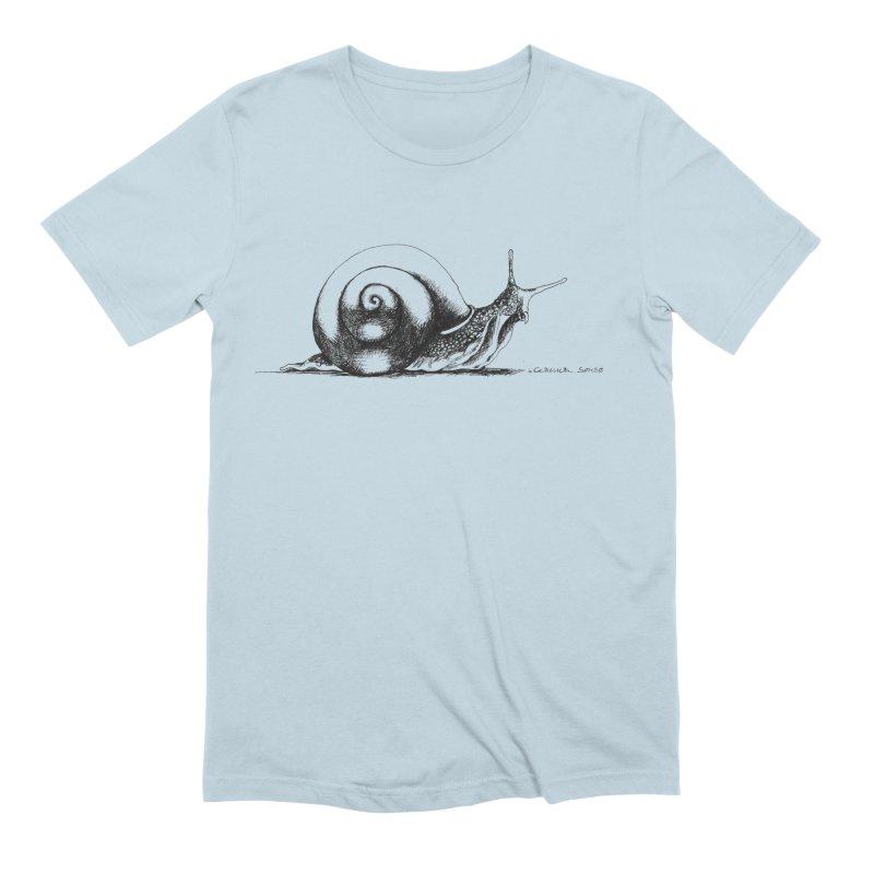 the Snail Men's Extra Soft T-Shirt by it's Common Sense