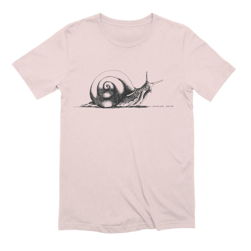 the Snail Men's Extra Soft T-Shirt by it's Common Sense