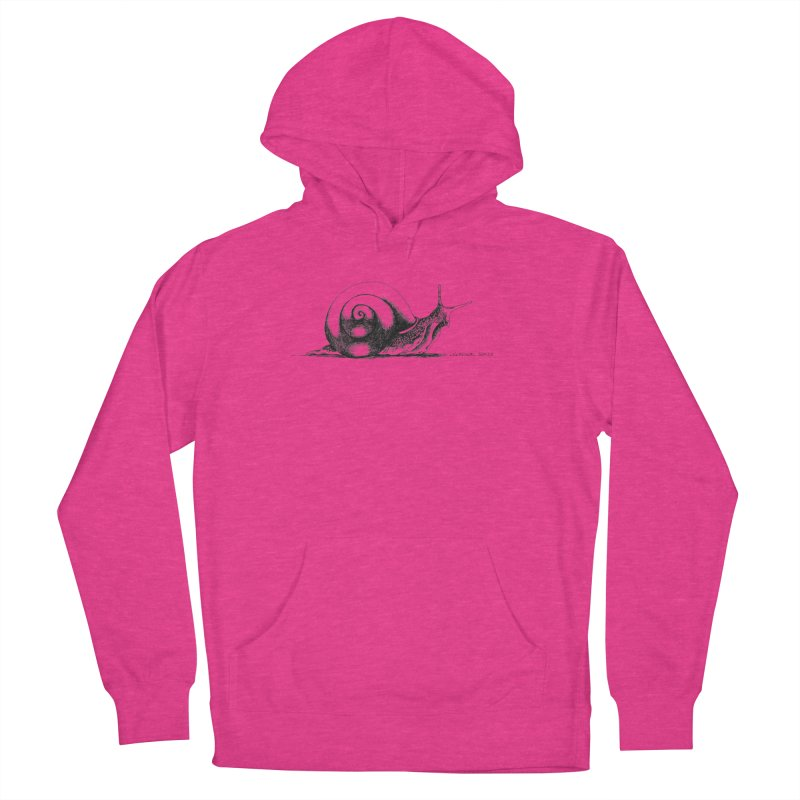 the Snail Women's Pullover Hoody by it's Common Sense
