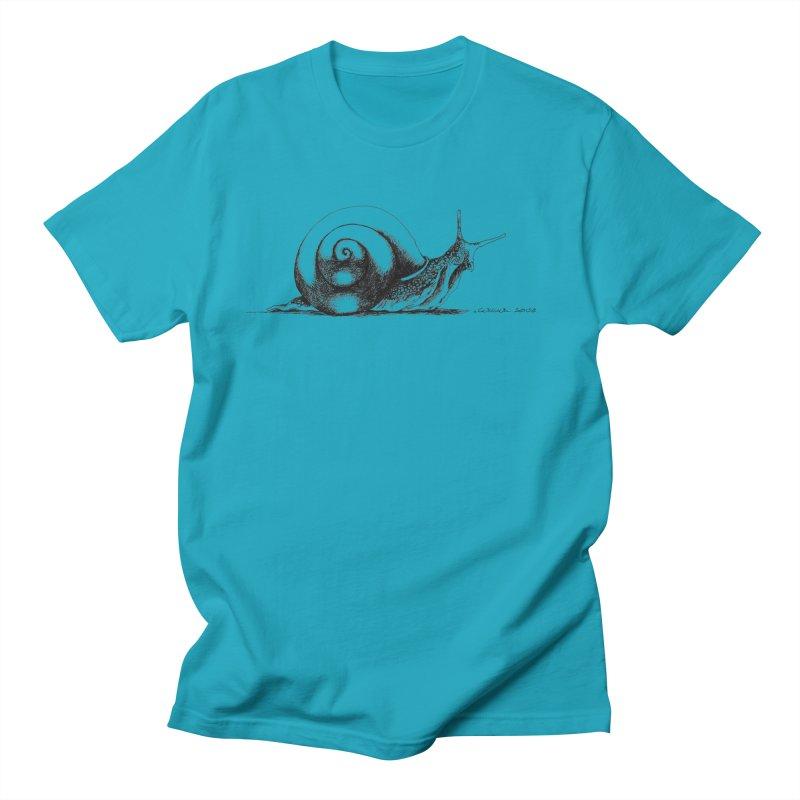the Snail Men's T-Shirt by it's Common Sense