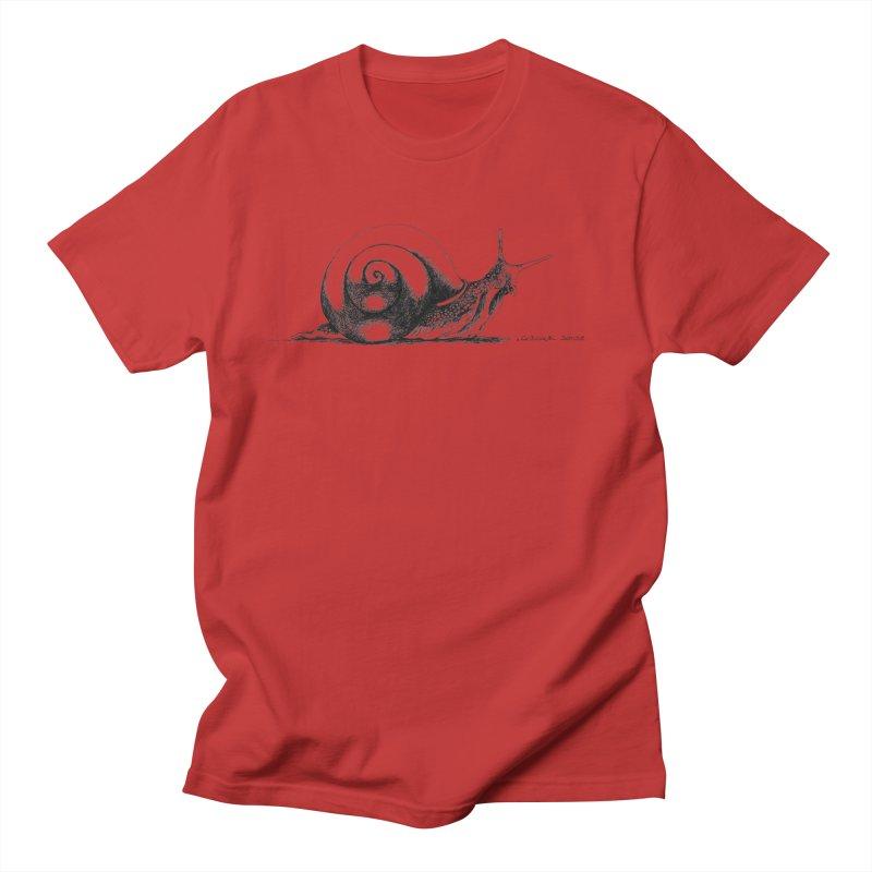 the Snail Women's Regular Unisex T-Shirt by it's Common Sense