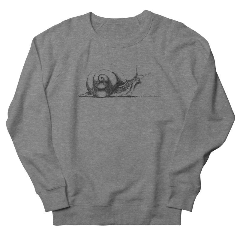 the Snail Men's Sweatshirt by it's Common Sense
