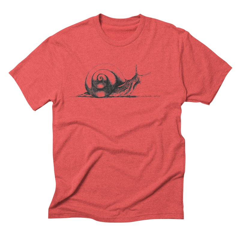the Snail Men's Triblend T-Shirt by it's Common Sense