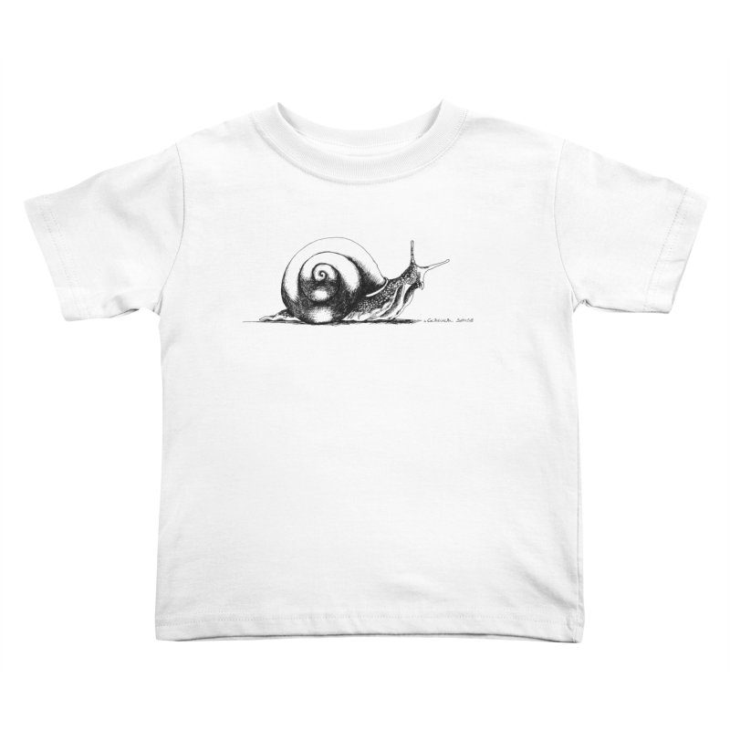 the Snail Kids Toddler T-Shirt by it's Common Sense