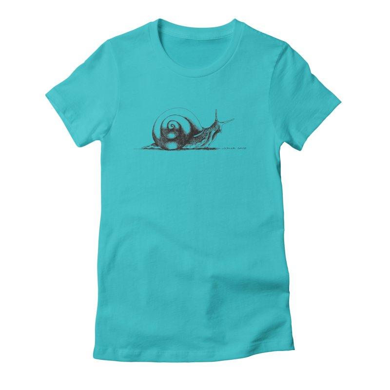 the Snail Women's T-Shirt by it's Common Sense