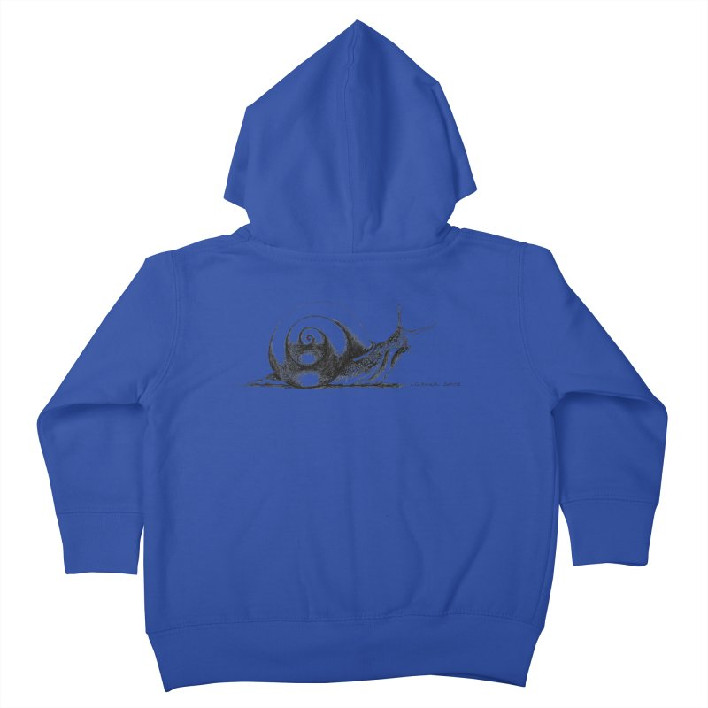 the Snail Kids Toddler Zip-Up Hoody by it's Common Sense