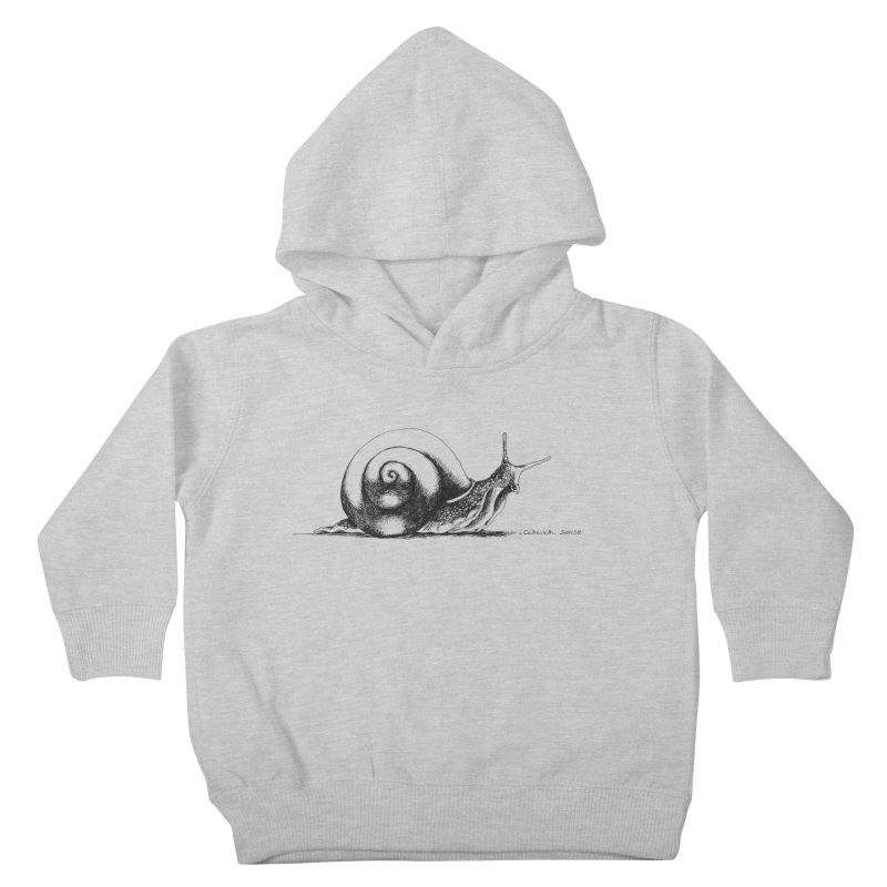 the Snail Kids Toddler Pullover Hoody by it's Common Sense