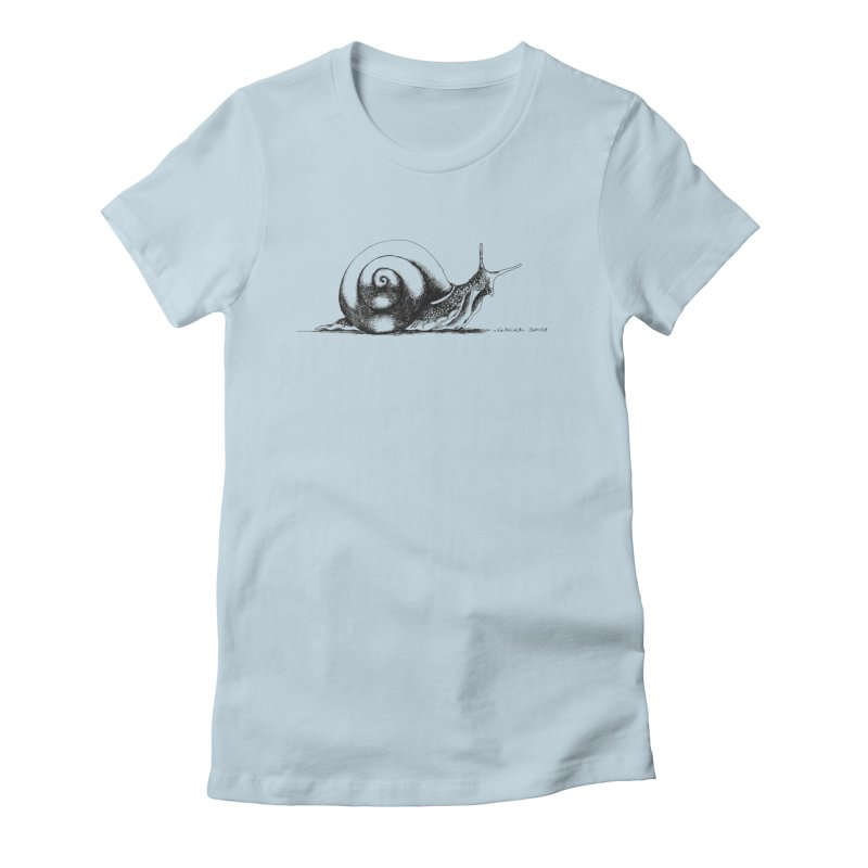 the Snail Women's T-Shirt by it's Common Sense