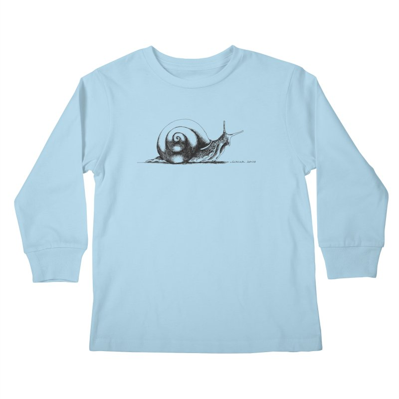 the Snail Kids Longsleeve T-Shirt by it's Common Sense