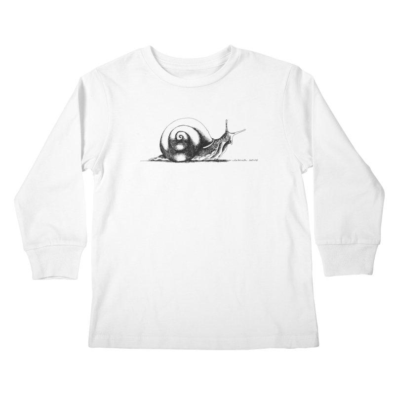 the Snail Kids Longsleeve T-Shirt by it's Common Sense