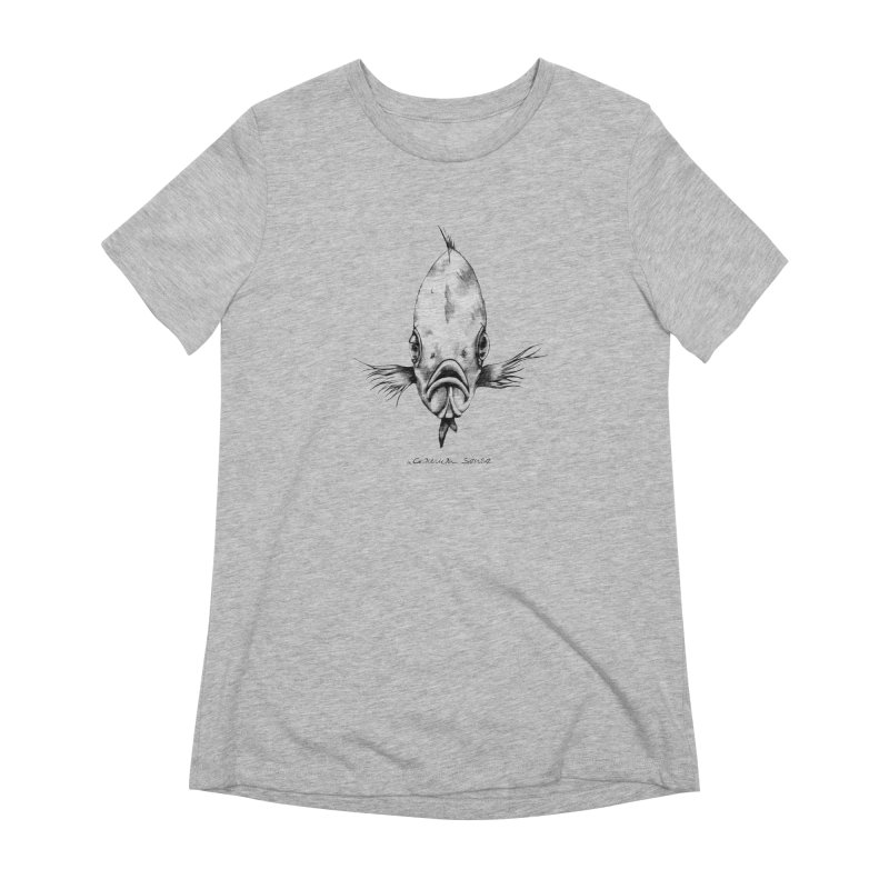 The Fish Women's Extra Soft T-Shirt by it's Common Sense