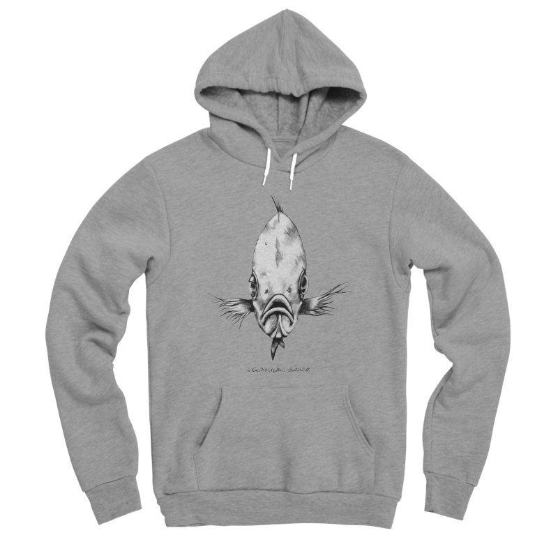 The Fish Men's Sponge Fleece Pullover Hoody by it's Common Sense