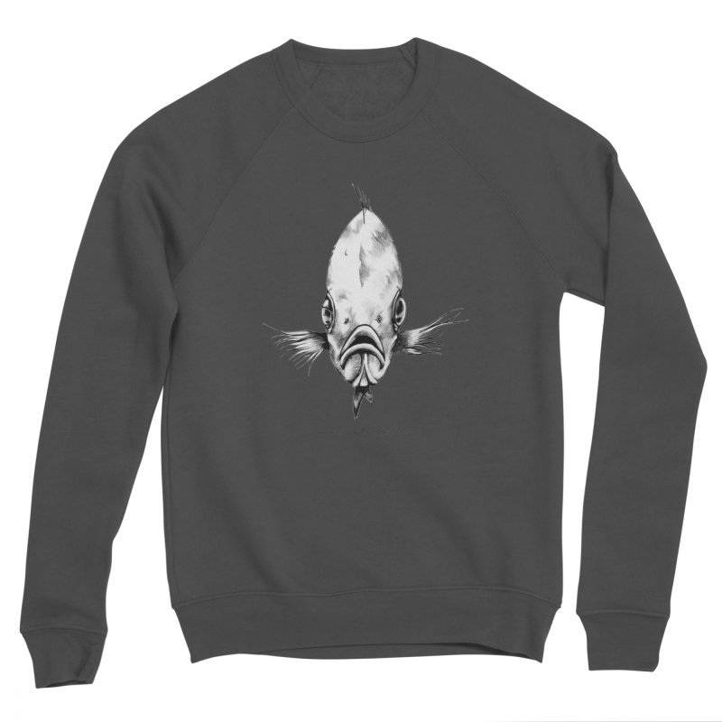 The Fish Women's Sponge Fleece Sweatshirt by it's Common Sense