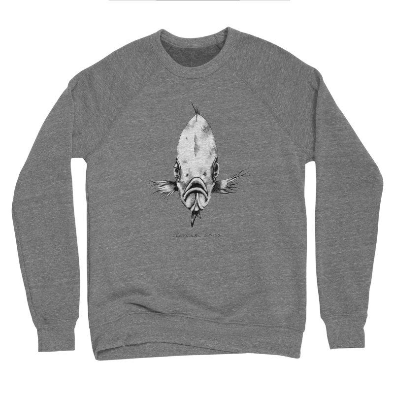 The Fish Men's Sponge Fleece Sweatshirt by it's Common Sense