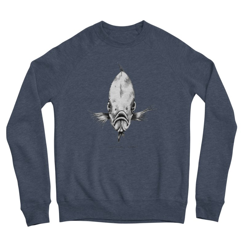 The Fish Men's Sponge Fleece Sweatshirt by it's Common Sense