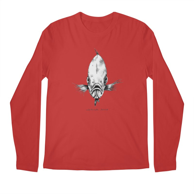 The Fish Men's Longsleeve T-Shirt by it's Common Sense