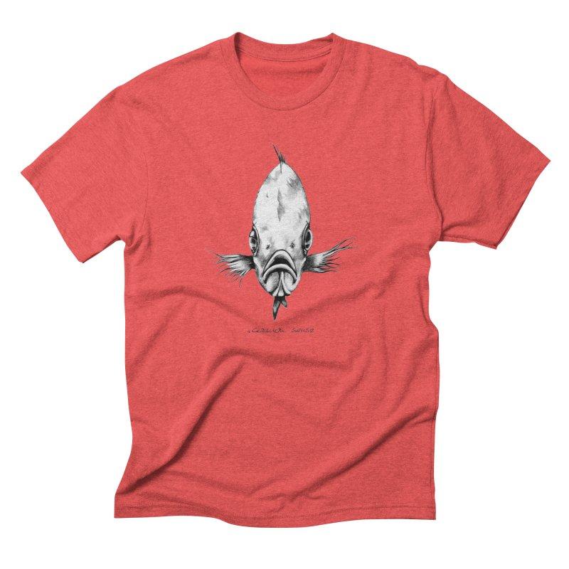 The Fish Men's Triblend T-Shirt by it's Common Sense