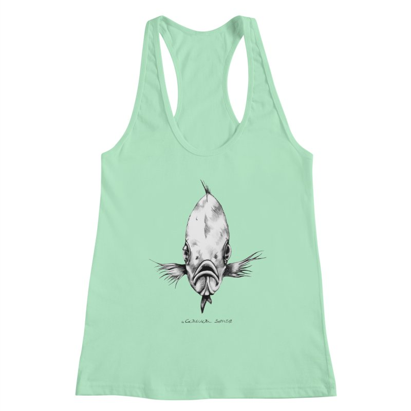 The Fish Women's Tank by it's Common Sense