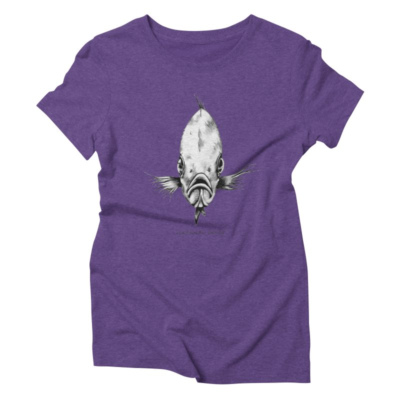 The Fish Women's Triblend T-Shirt by it's Common Sense