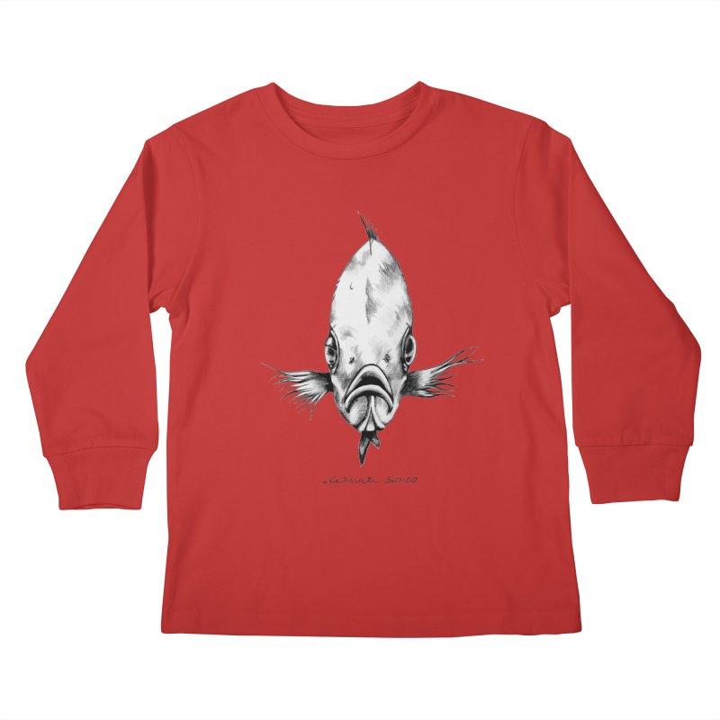 The Fish Kids Longsleeve T-Shirt by it's Common Sense