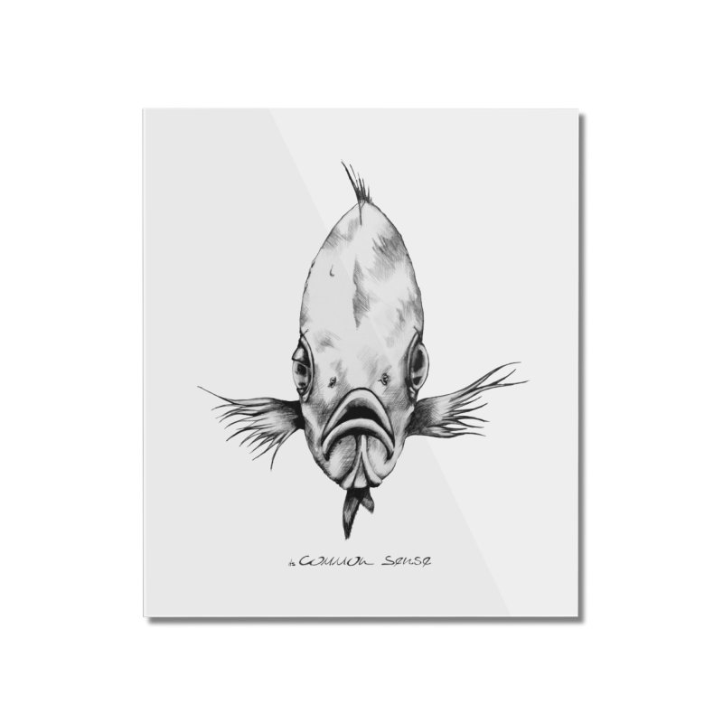 The Fish Home Mounted Acrylic Print by it's Common Sense