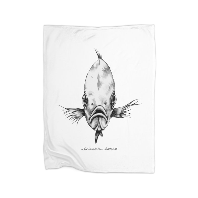 The Fish Home Fleece Blanket Blanket by it's Common Sense