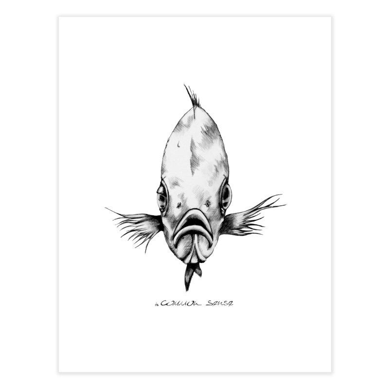 The Fish Home Fine Art Print by it's Common Sense