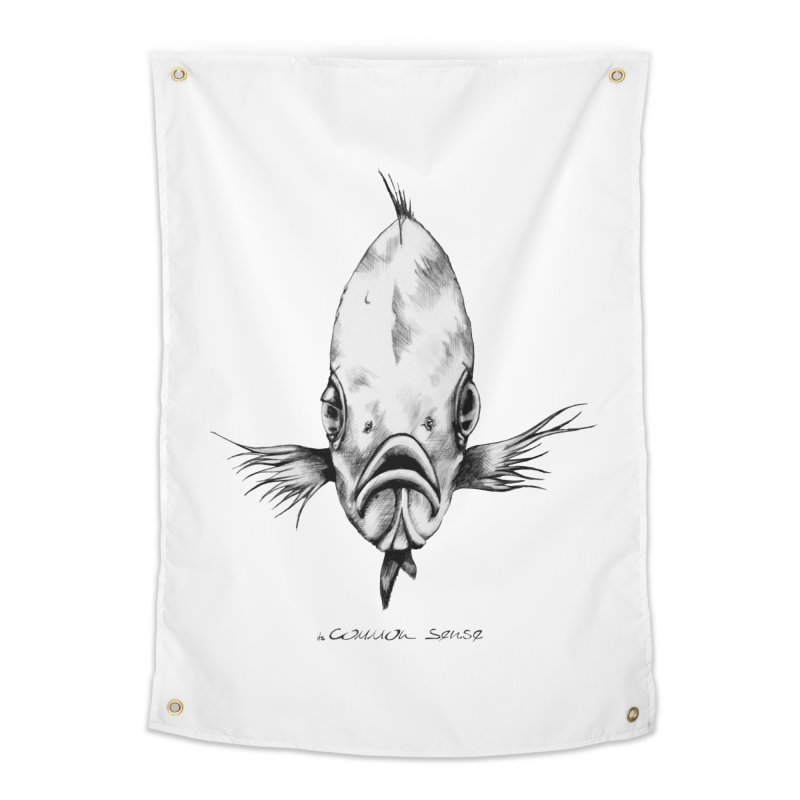The Fish Home Tapestry by it's Common Sense