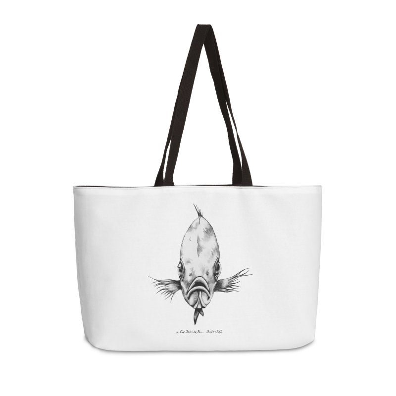 The Fish Accessories Weekender Bag Bag by it's Common Sense