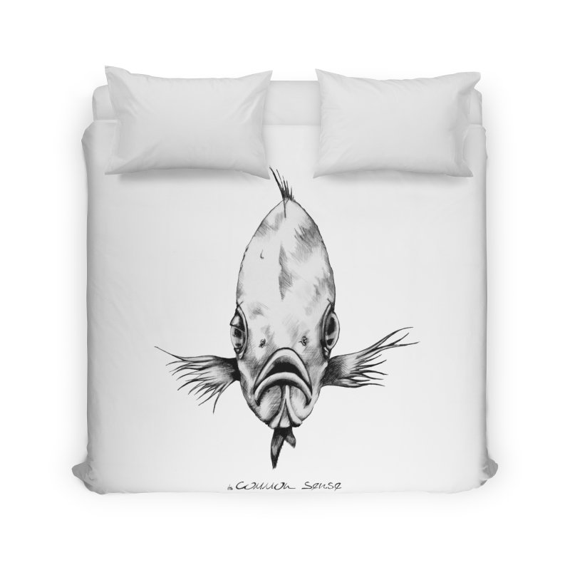 The Fish Home Duvet by it's Common Sense
