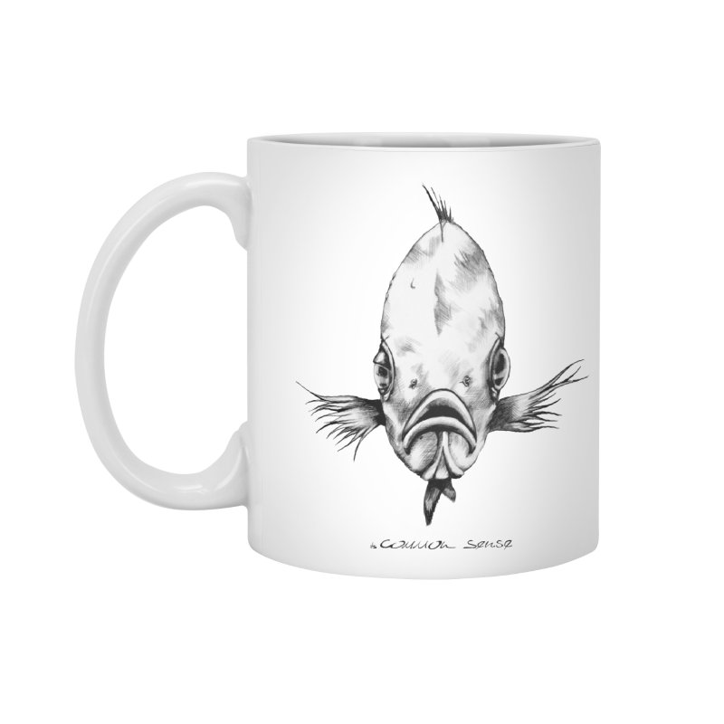 The Fish Accessories Standard Mug by it's Common Sense