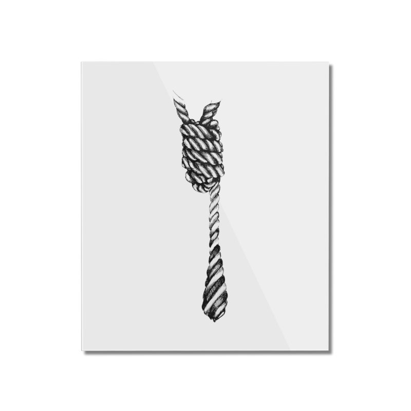 The Tie Home Mounted Acrylic Print by it's Common Sense