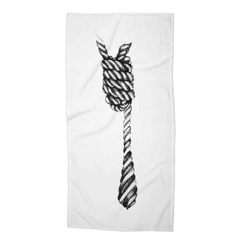 The Tie Accessories Beach Towel by it's Common Sense