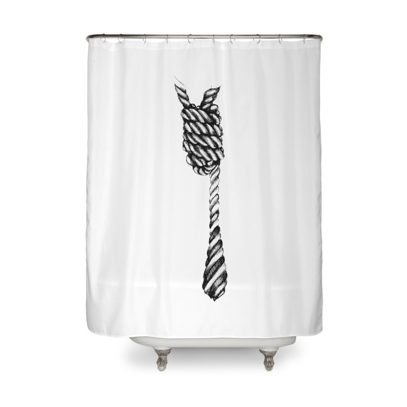 The Tie Home Shower Curtain by it's Common Sense