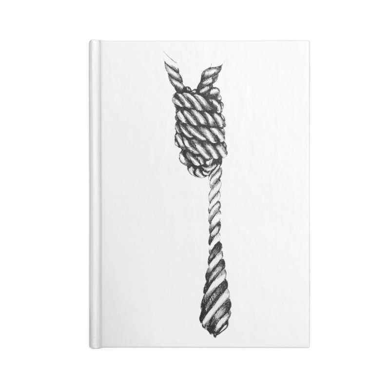 The Tie Accessories Blank Journal Notebook by it's Common Sense