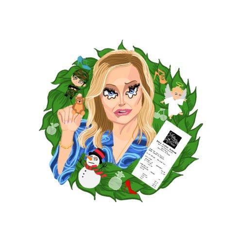 Design for Kathy Hilton's Demented Wreaths