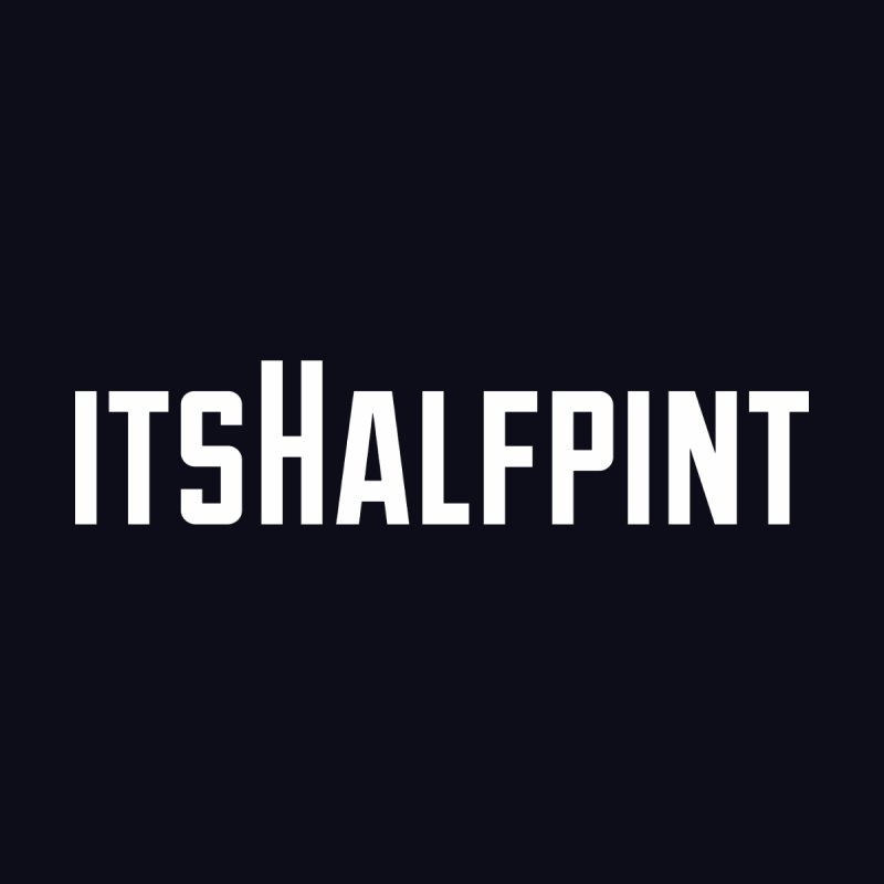 itsHalfpint Logo Accessories Notebook by itsHalfpint's Merch