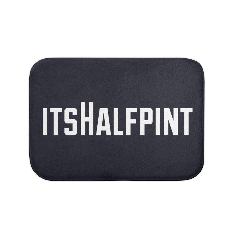 itsHalfpint Logo Home Bath Mat by itsHalfpint's Merch