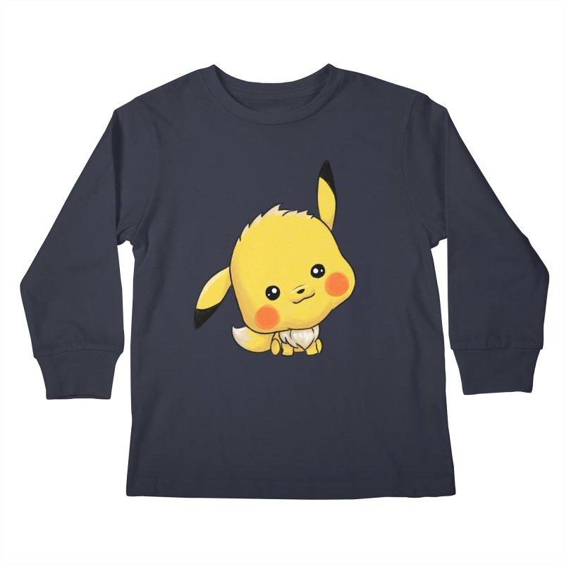 Eevachu Kids Longsleeve T-Shirt by itsHalfpint's Merch