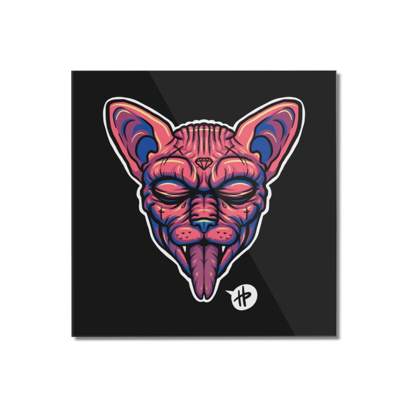 Sphynx Home Mounted Acrylic Print by itsHalfpint's Merch
