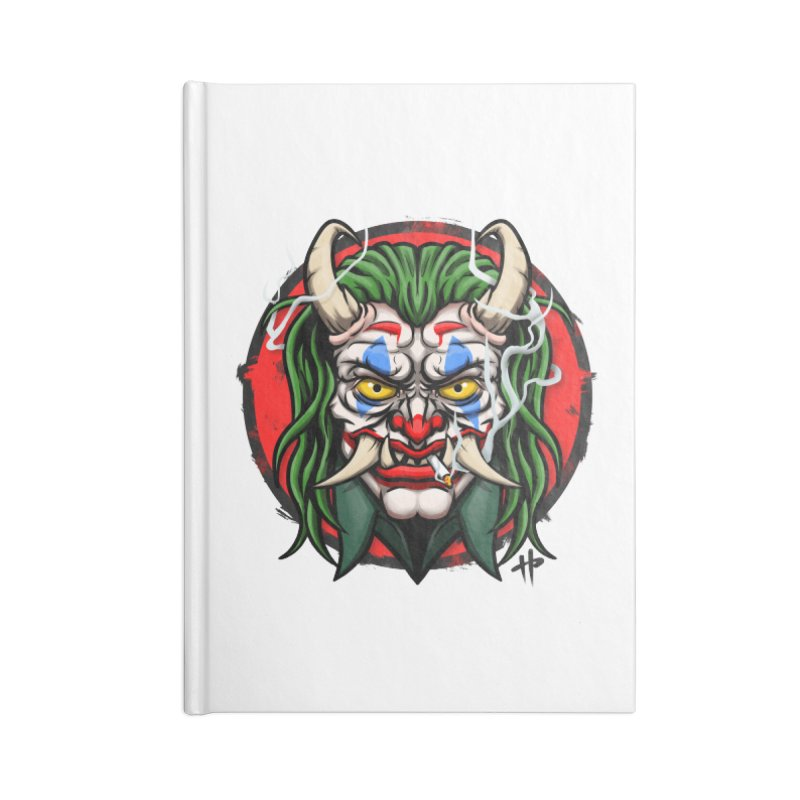 Oni Laughs Last Accessories Notebook by itsHalfpint's Merch