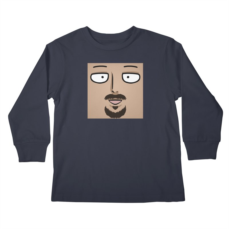 Halftama Kids Longsleeve T-Shirt by itsHalfpint's Merch