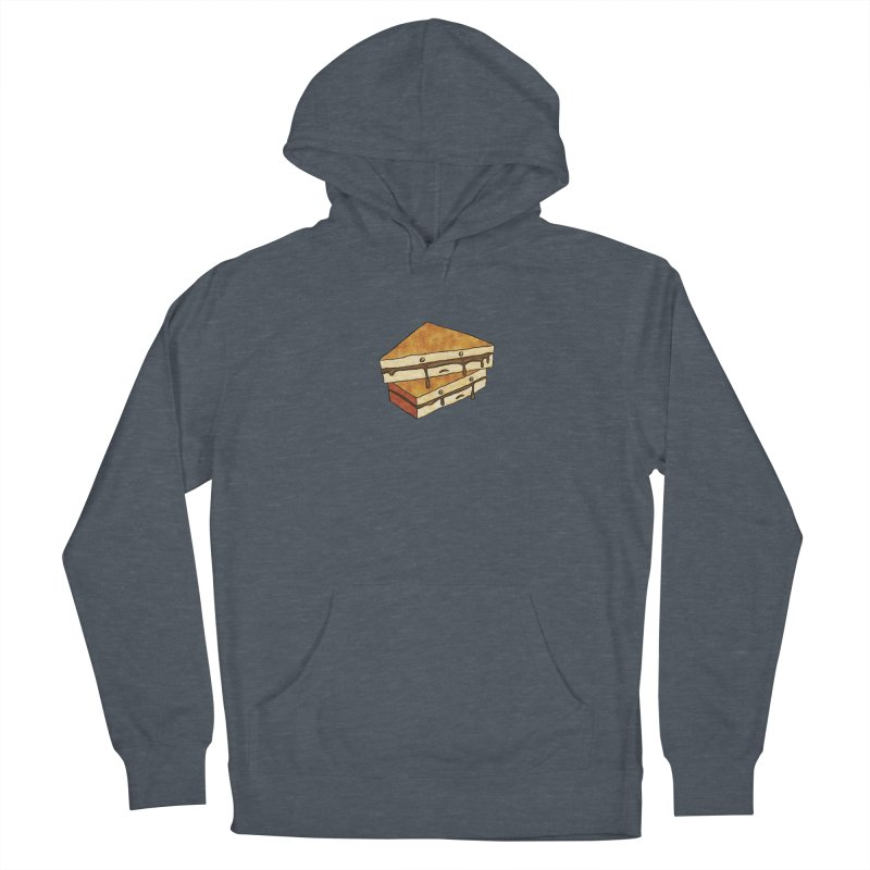 sad af: chocolate sandwich Men's Pullover Hoody by How to Eat Your Feelings